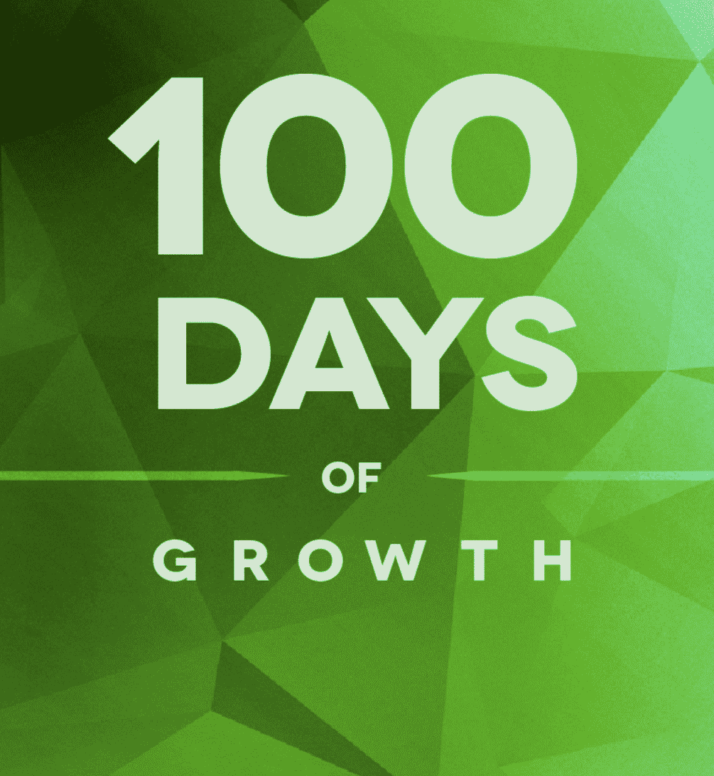 100 days of Growth Hacking book cover