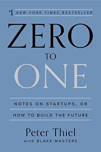 Zero To One - bookcover