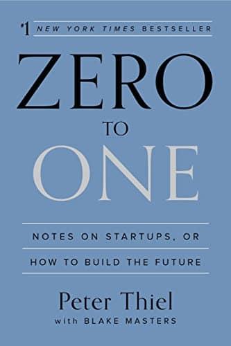 Zero To One - bookcover