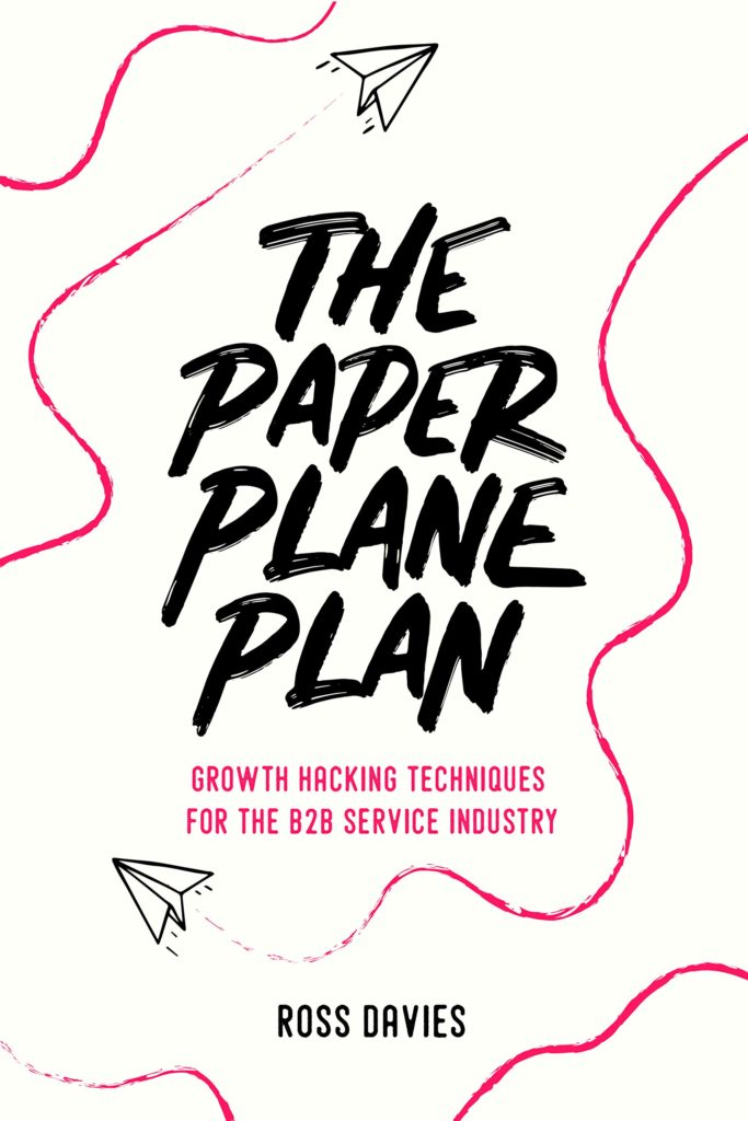 The Paper Plane Plan - bookcover