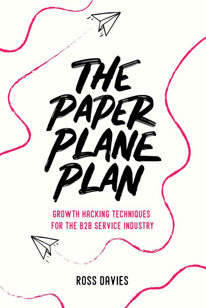 The Paper Plane Plan - bookcover