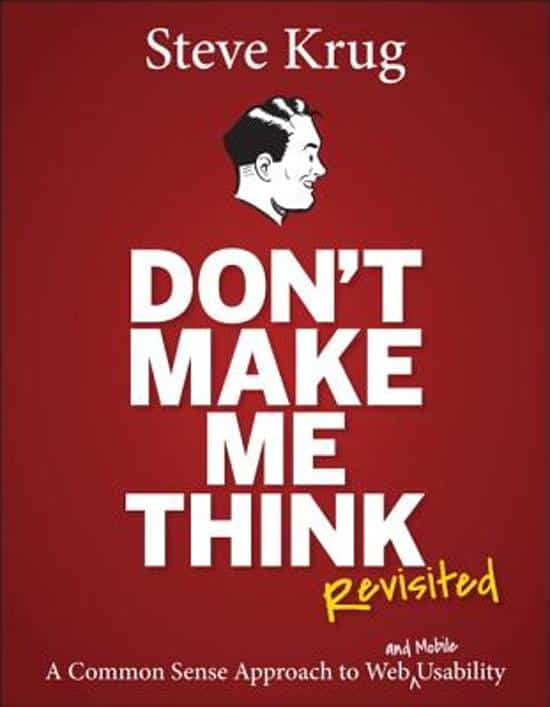 Don't Make Me Think - bookcover
