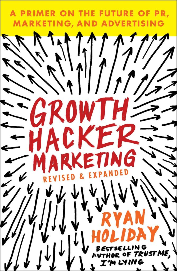 Growth Hacker Marketing - bookcover