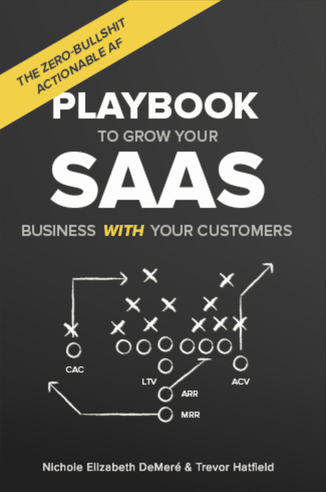 SaaS Growth Playbook - Growth Hacking book cover
