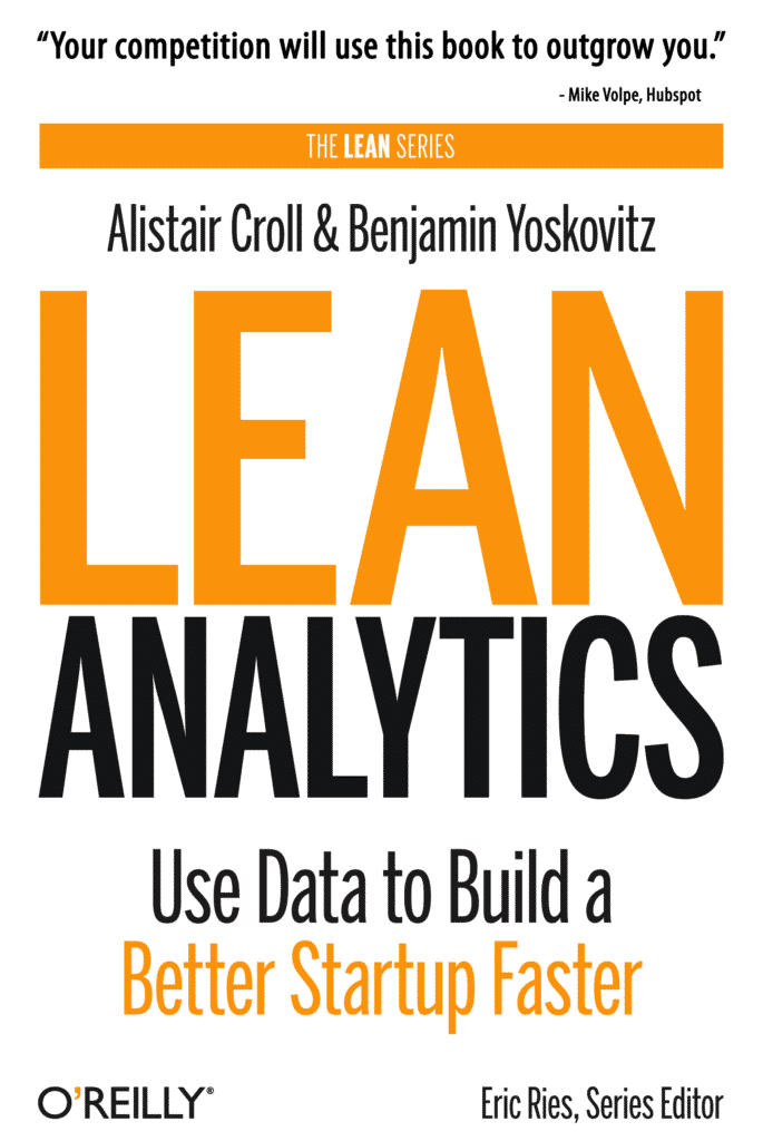 Lean Analytics - bookcover