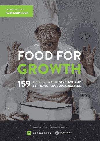 Food for Growth Hacking book cover
